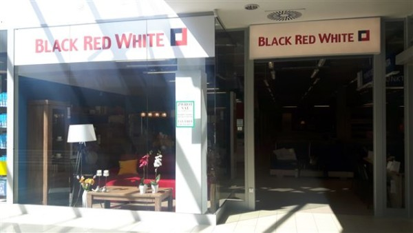 Black Red White Inbag